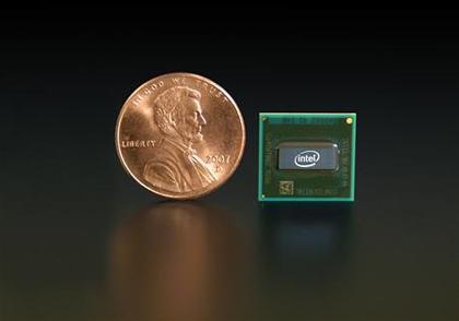 Intel показал первые процессоры Atom