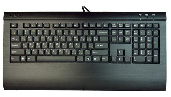 Клавиатура со встроенной аудиокартой от MaxPoint