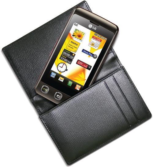 Оптимистические продажи сенсорного телефона LG KP500
