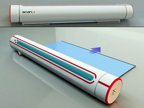 Портативный сканер с OLED-дисплеем