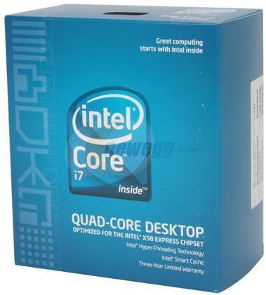 Процессоры Intel Core i7 дебютируют на рынке