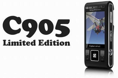 Обновленная версия камерофона Sony Ericsson C905