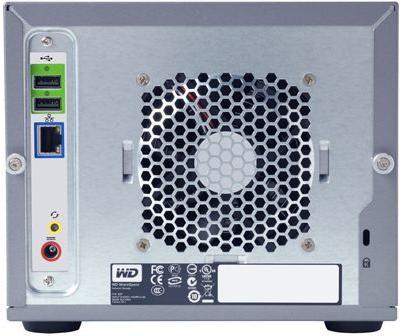 Сетевой накопитель WD ShareSpace объемом до 4 Тб