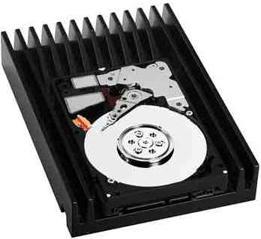 WD: жесткий диск с частотой вращения 20000 об/мин