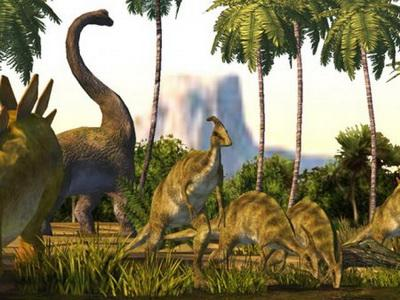 Динозавры Жили за Полярным Кругом