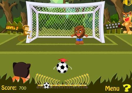 Animal Football 2010 (флеш игра)