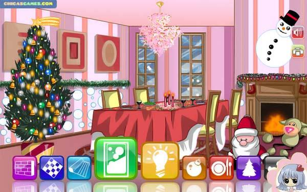 Christmas Dining Room (флеш игра)