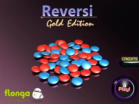 Reversi Gold Edition (флеш игра)