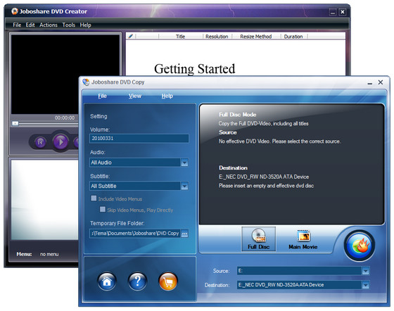 Joboshare DVD Maker Bundle v2.6.0.0330