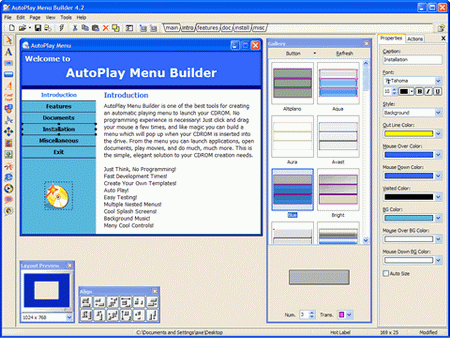 Portable AutoPlay Menu Builder v6.0 Build 1855