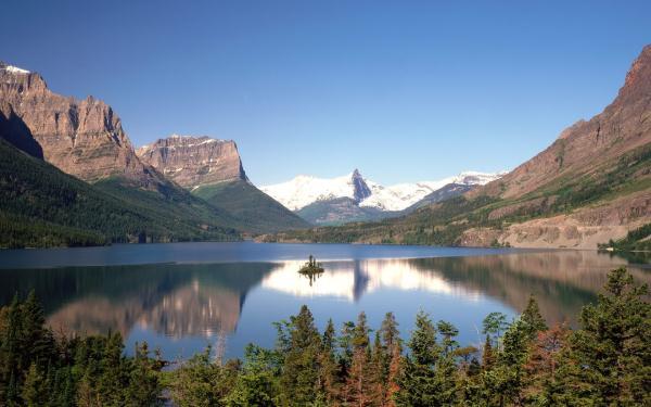 Удивительные природные пейзажи (обои)