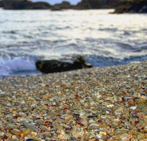 Glass Beach, Калифорния