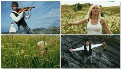 Alexander Rybak - Roll With The Wind (Official Video) (2009)