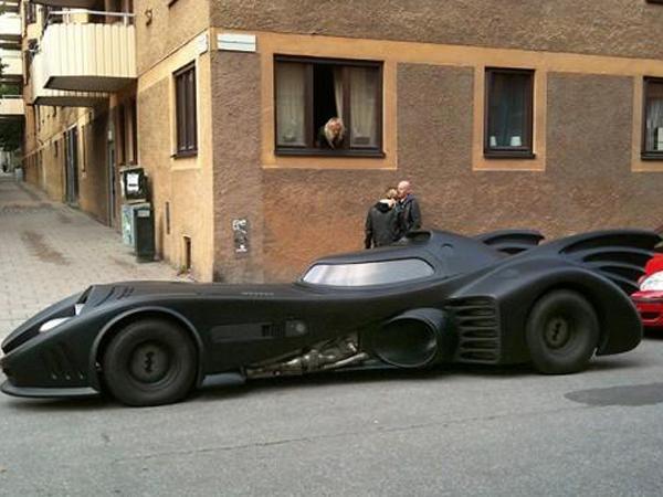 Автомобиль Бэтмена
