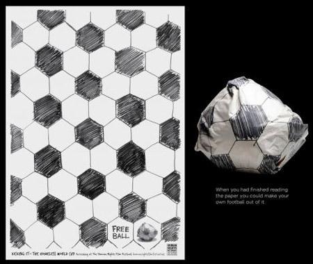 Самая креативная реклама Чемпионата Мира по футболу