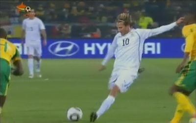 Фантастический гол Форлана (ЮАР - Уругвай – 0:1)