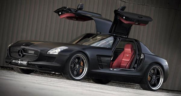 Kicherer Mercedes SLS Supersport Edition Black
