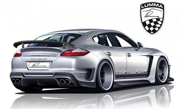 Lumma Porsche Panamera CLR 700GT