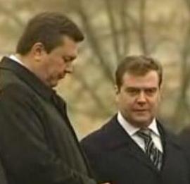 Медведев vs Янукович