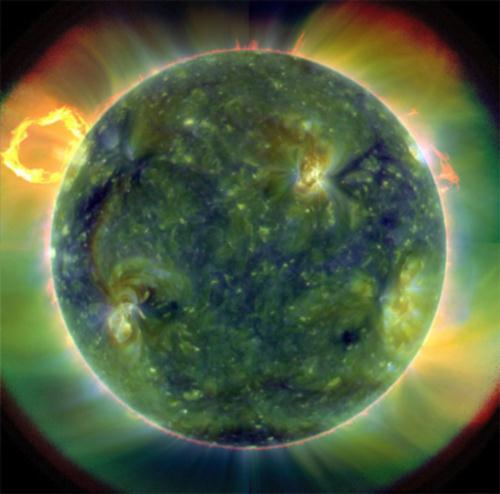 NASA показала снимки Солнца сверхвысокого разрешения. ФОТО. ВИДЕО