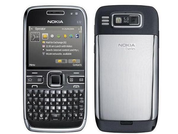 Nokia Анонсировала Модель E72