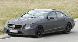 Новый Mercedes-Benz CLS лишился камуфляжа