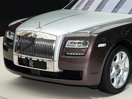 В Женеве покажут «гламурный» Rolls-Royce Ghost