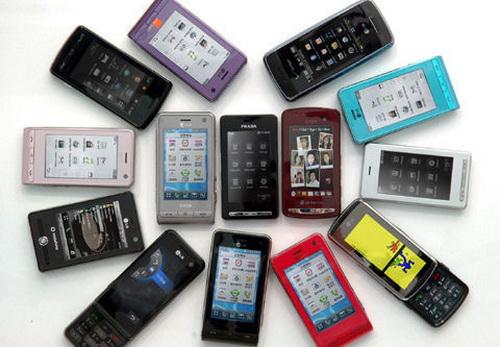 Сенсорные мобильники захватывают рынок