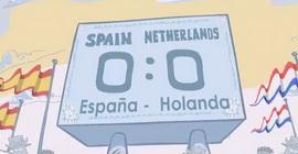 Секретный мульт. Как Испания с Голландией играла