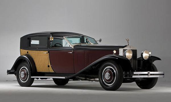 Rolls-Royce Phantom II Special Town Car by Brewster 1933 года выпуска