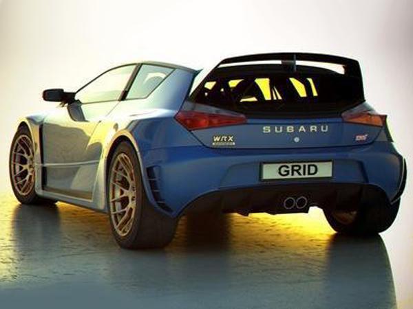 Subaru Impreza WRX STI Grid