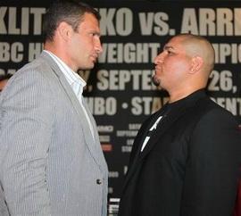 Кличко vs Арреола