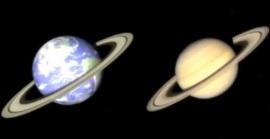 Земля как Сатурн