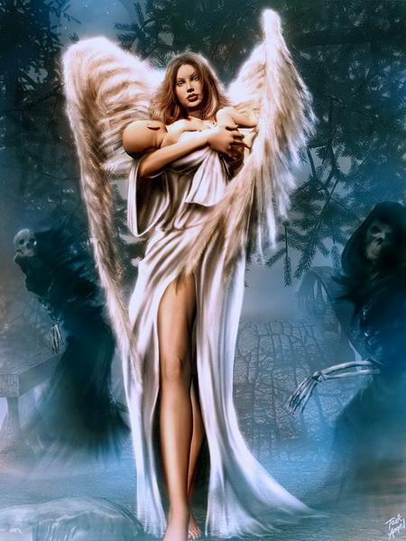 За Каким Плечом Твой Ангел - Хранитель?