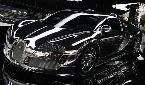 Создана золотая модель Bugatti Veyron, вдвое дороже самого авто