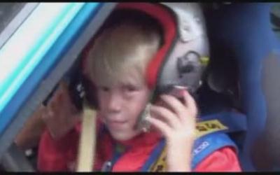 Самый молодой гонщик на ралли