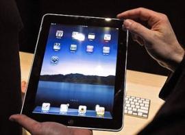 iPad стремительно завоевывает популярность