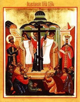 Сегодня Праздник Воздвижения Креста Господня