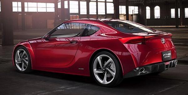 Toyota готовит революционное купе