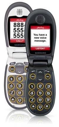 Компания Samsung Представила Новый Телефон для Старых Людей